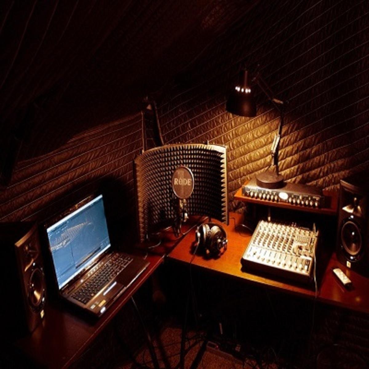 Voiceover studio