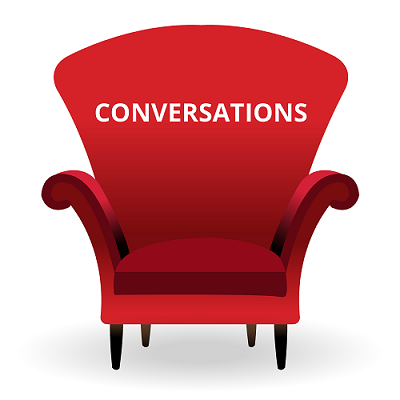Conversationsicon red