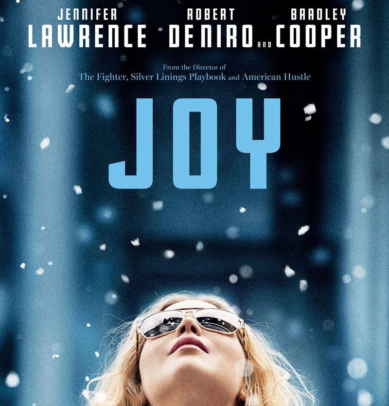 Square joy poster