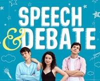 Speech   debate poster square