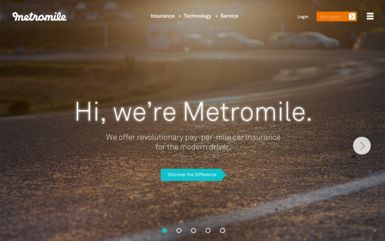 New Metromile Website