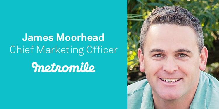 James Moorhead, CMO, Metromile