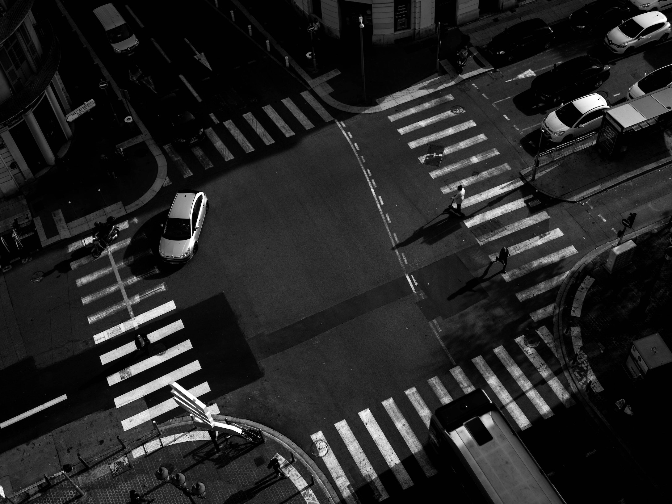 Cars at Intersection
