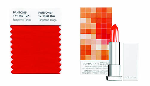 (If you're unfamiliar with Pantone, take a look at our past post on the  company). This year, it's the energetic zing of reddish-orange, Pantone  17-1463 ...
