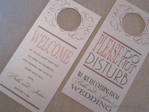 etsy do not disturb sign my hotel wedding