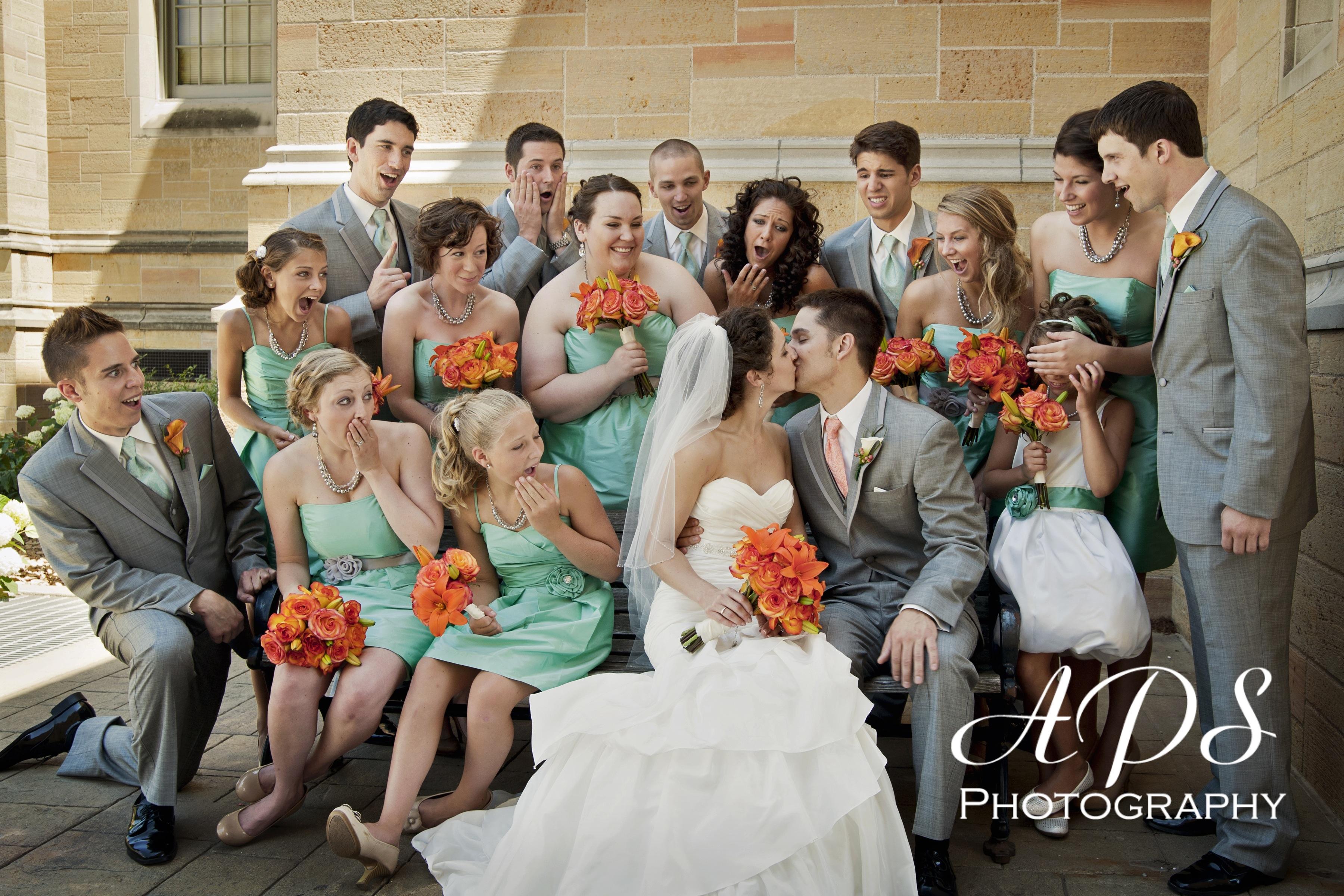 Feeling silly fun wedding photo ideas my hotel wedding connietom3 ombrellifo Gallery