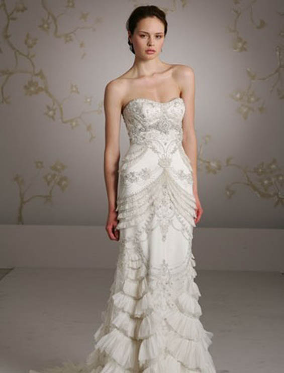 Gatsby Inspired Wedding Gowns - My Hotel Wedding