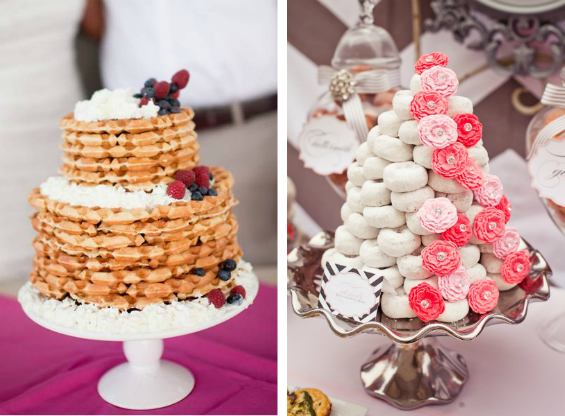 Brunch Wedding Ideas Cake