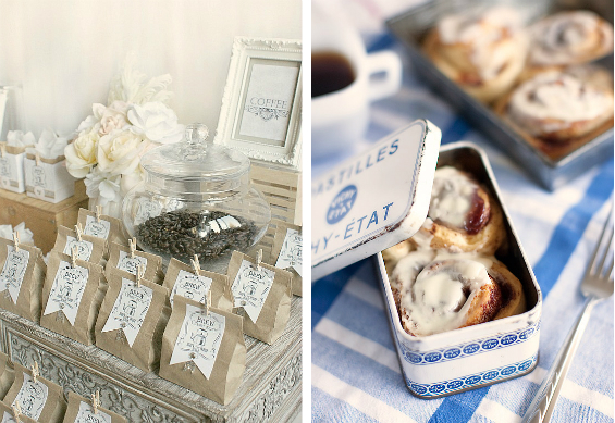 Brunch Wedding Ideas Favors
