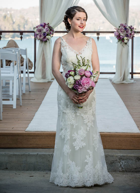 Dreamy Lavender, Grey and Ivory Wedding at Lake Arrowhead Resort ...