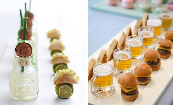 summer wedding appetizers