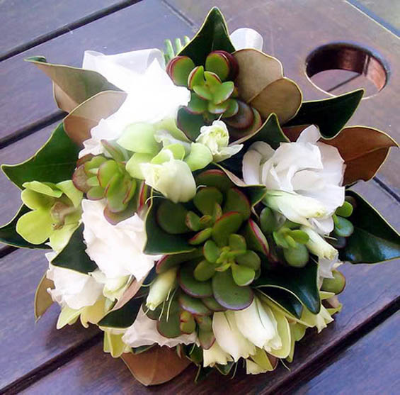 Magnolia Wedding Flowers - My Hotel Wedding