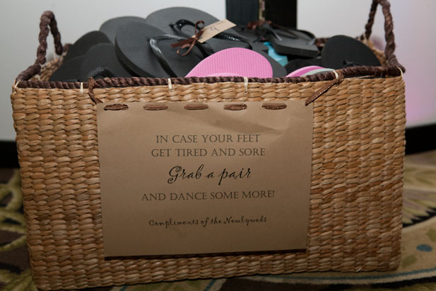 Flip Flops for Wedding Guests - My Hotel Wedding