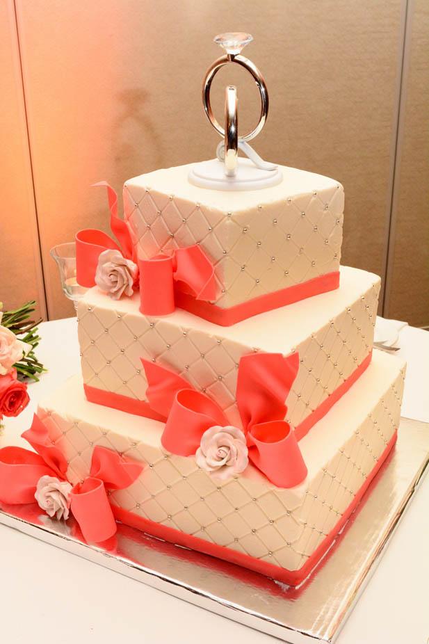 Coral Wedding at the Westin Virginia Beach - My Hotel Wedding