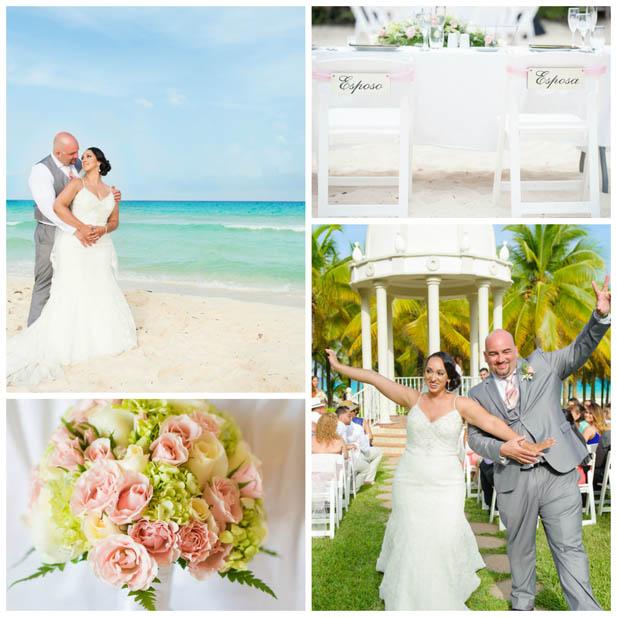 Riviera Maya Wedding At Grand Velas Resort Pink And Coral Riu Palace Rivera