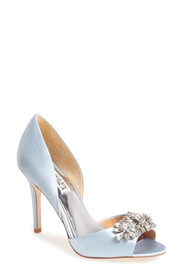 10 Something Blue Bridal Shoes - My Hotel Wedding