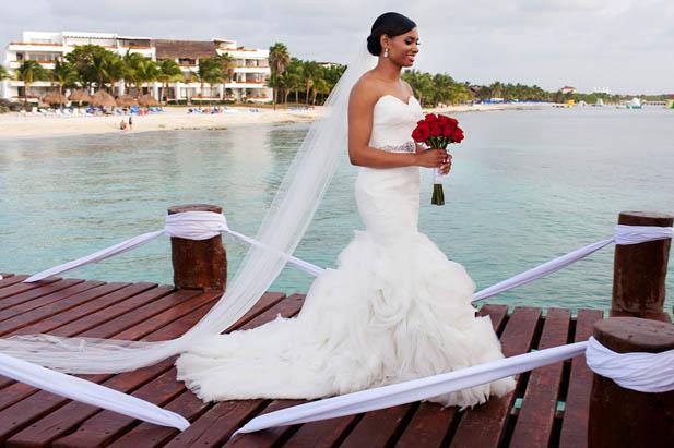 Fabulous Cozumel Wedding at Secrets Aura Resort - My Hotel Wedding