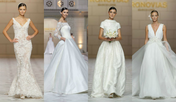 Bridal Gowns in the Cat Walk: Spring 2015 New York Fashion Week - My ...