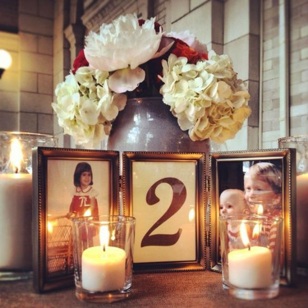 Reception Ceremony Burial: 10 Creative Table Number Ideas