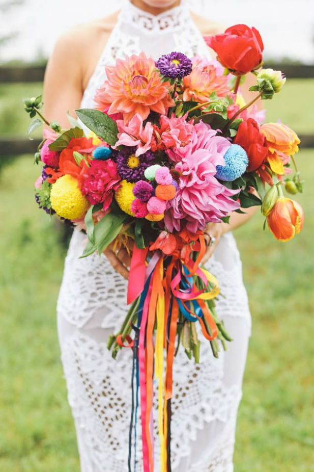 Image result for carnival bridal bouquets