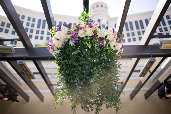 Puprle Spring Wedding at Bellagio Las Vegas, NV | Meg Ruth Photography | See more on My Hotel Wedding: https://www.myhotelwedding.com/blog/2015/10/12/puprle-spring-wedding-at-bellagio-las-vegas-nv/