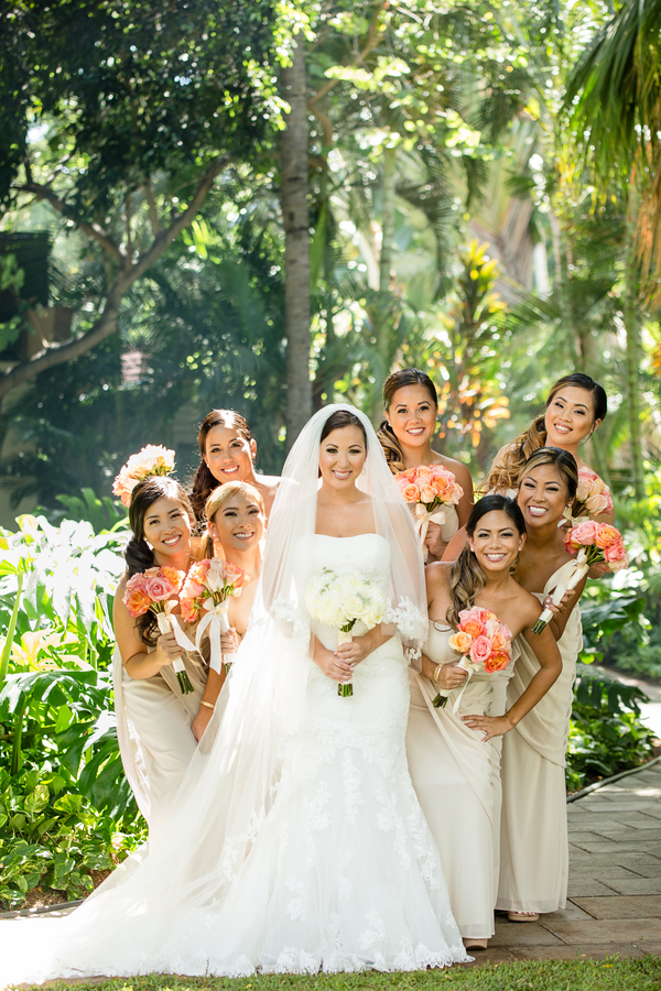 Elegant Honolulu Wedding At Hale Koa Hotel Hi My Hotel Wedding
