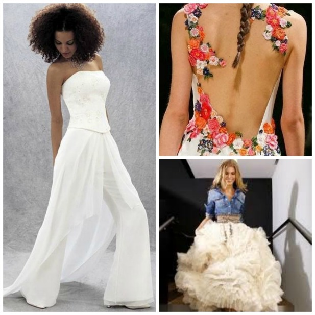 Non-Traditional Wedding Dress Ideas
