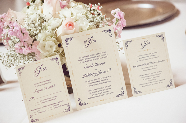 Wedding Invitations Indianapolis: Classic Indianapolis Wedding At Crowne Plaza Union Station