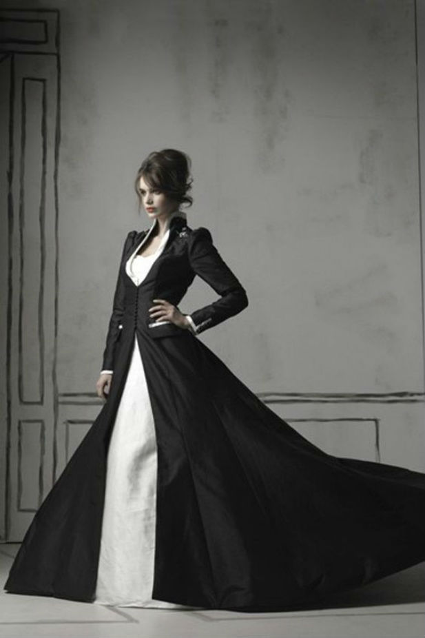 Black Bridal Dresses