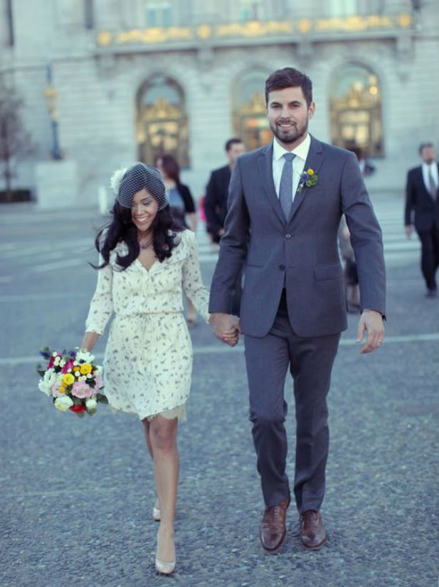 35 City Hall Wedding Dresses for Your Inspiration