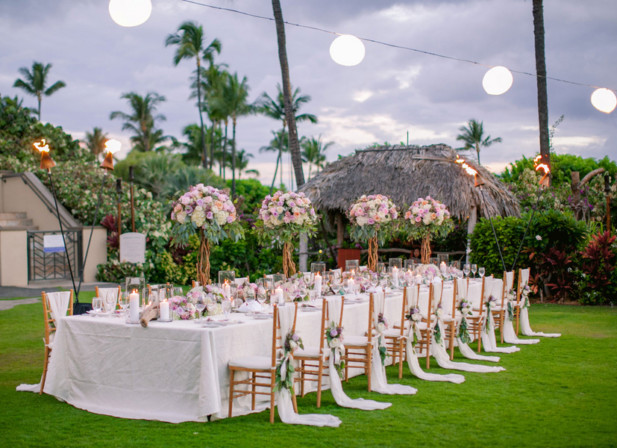 Luxurious Maui Wedding At The Four Seasons