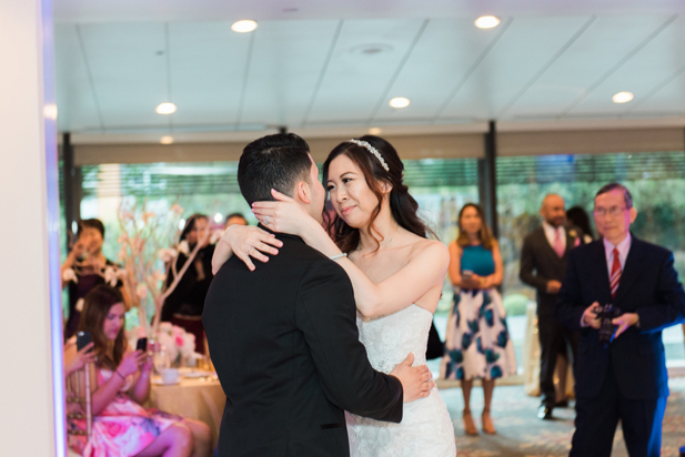 Downtown Los Angeles Wedding at the DoubleTree by Hilton | Cameron Leung Photography | See more on My Hotel Wedding: https://www.myhotelwedding.com/blog/2016/11/01/downtown-los-angeles-wedding-doubletree-hilton/