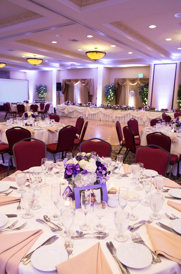 Lavender purple wedding at ayres hotel manhattan beach mhw for Design hotel mr president karadjordjeva 75