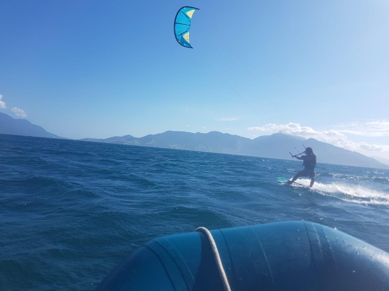 Edna Kite Surfing 2