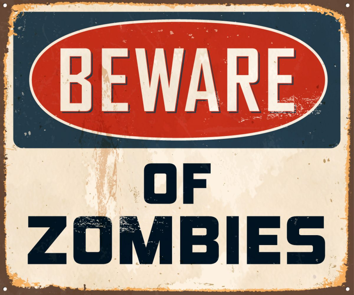 Beware Of Zombies Meet The Microban Team Kimberley Cherrington