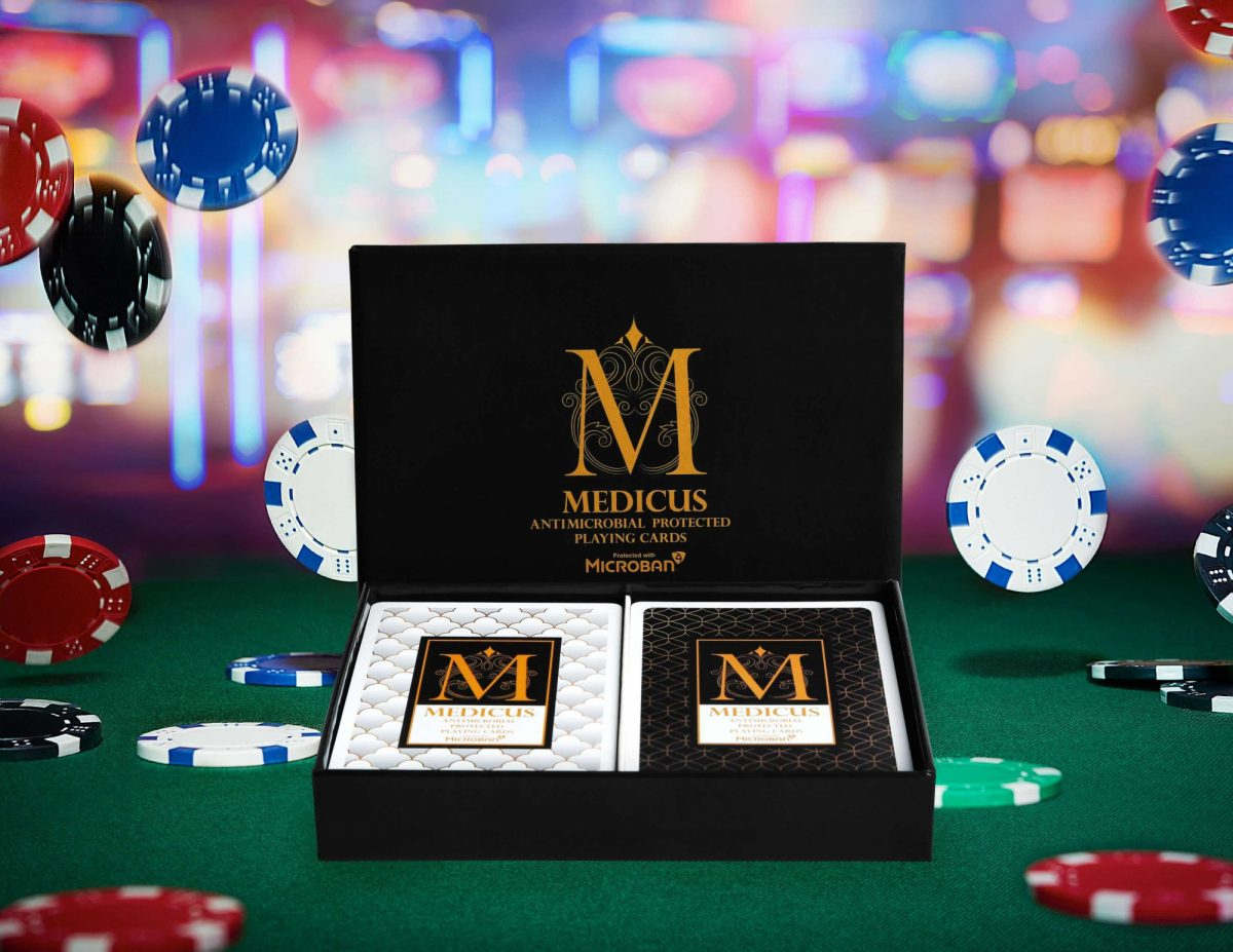 Medicus Playing Cards Enhanced With Microban V2