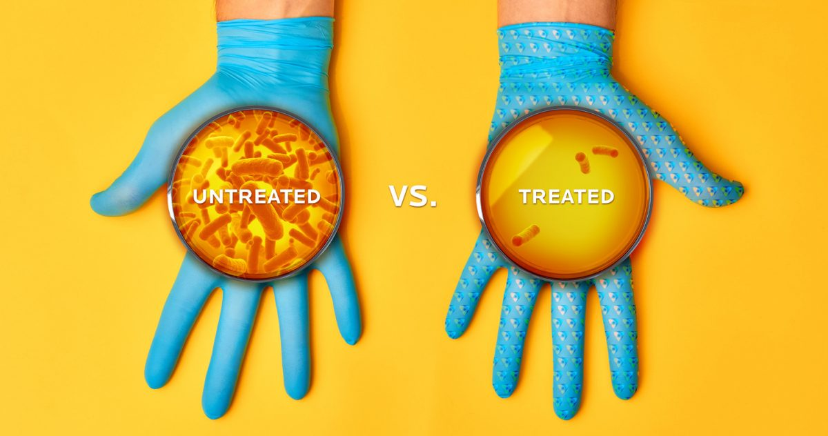 Mbns20 Gloves Treated vs Untreated Comparison