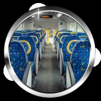 Mbns18 Transportation Train Seats