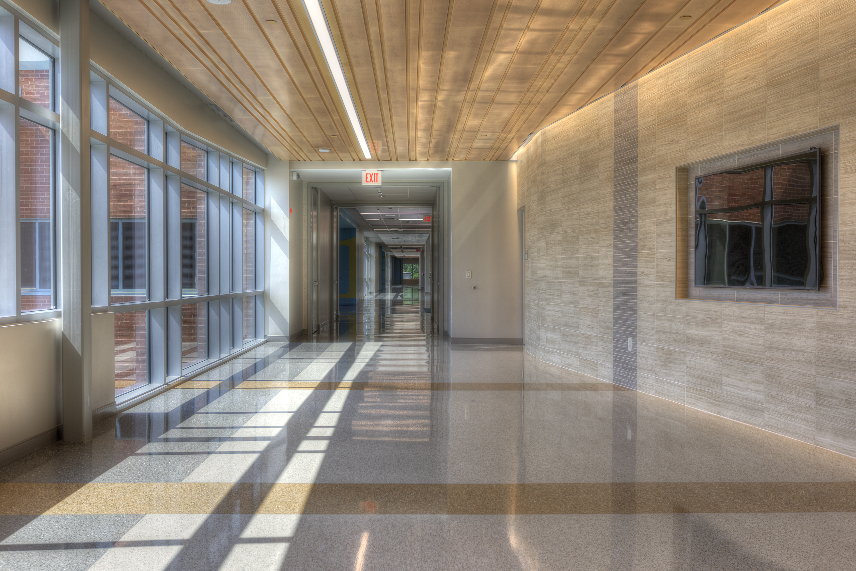 Microban Antimicrobial Buckeye International Elementary School Epoxy Flooring