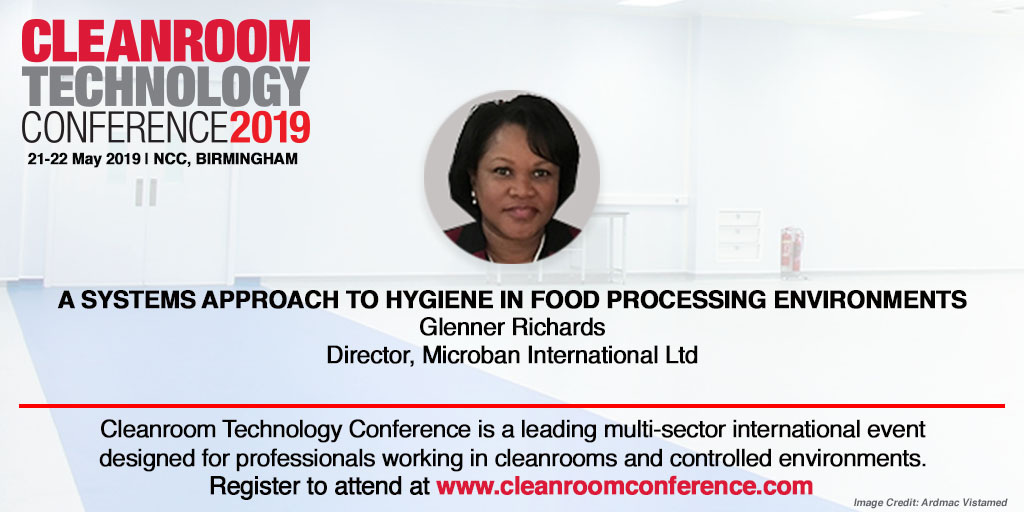 News Cleanroom Technology Conference Dr. Richards Feature