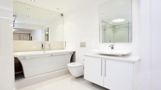 การป้องกันเชื้อราและแบคทีเรียในระดับโมเลกุล: ห้องน้ำ