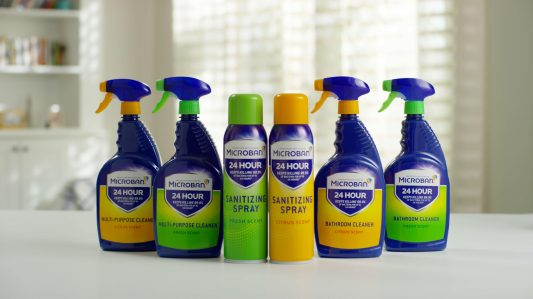 P&G Launches New Line of Antibacterial Cleaning Products, Microban 24