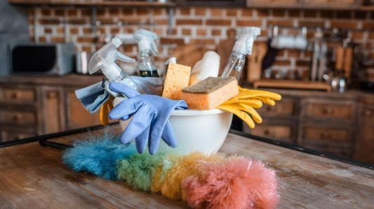 How to stay healthy during flu season: Steps for cleaning and choosing a disinfectant to combat the cold and flu