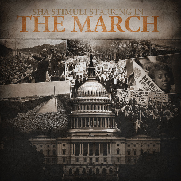 "Sha Stimuli Releases ""The March"" #3 of the #TheRentTapeSeries"