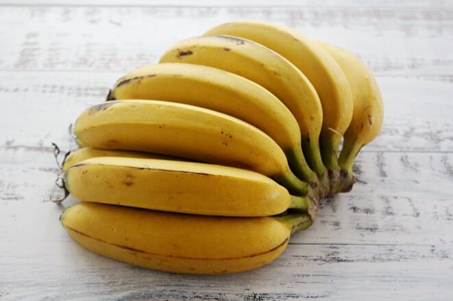 Buy bananas from the market and come back