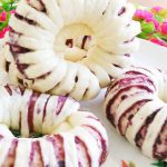 Fancy Purple Potato Roll