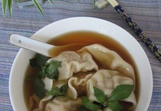 Dumplings with Pork and Shallot