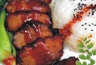 Honey Roast Pork Rice