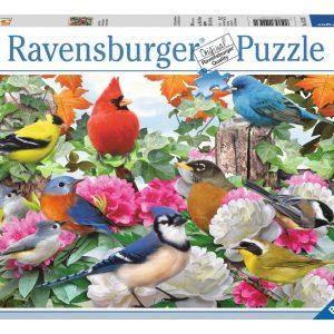 Garden Birds Puzzle for Sale