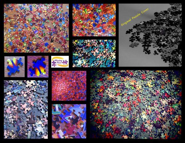Puzzle Cover - Puzzle Pieces